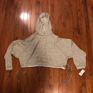 NEW Hard Tail Women's Cropped Hoody